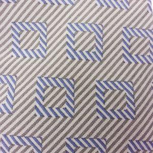 Emporio Armani Silk Neck Tie Green Blue Stripe Sq.